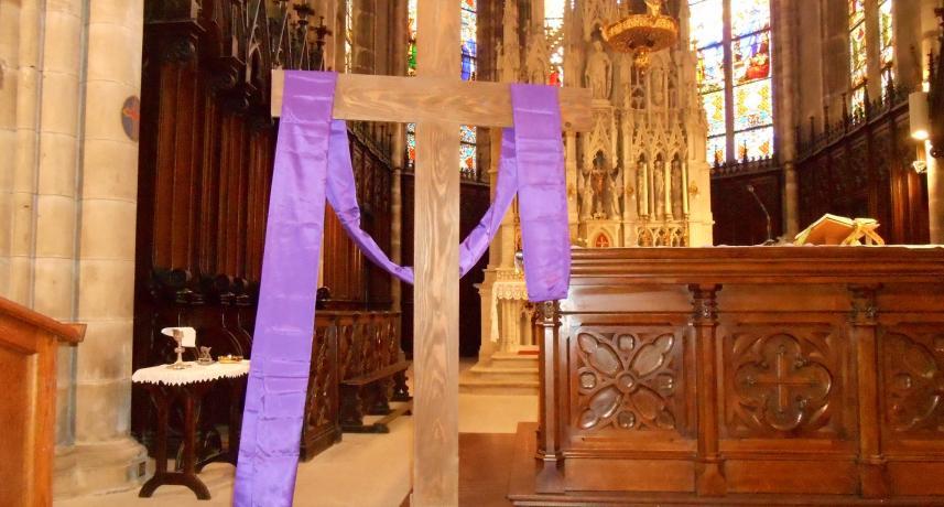 Premier dimanche de carême 2020 église de Plombières