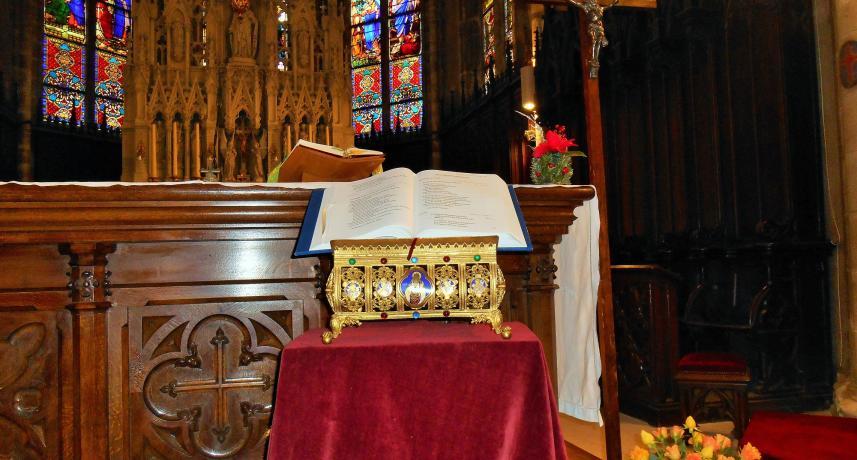 Choeur église de Plombières-les-Bains