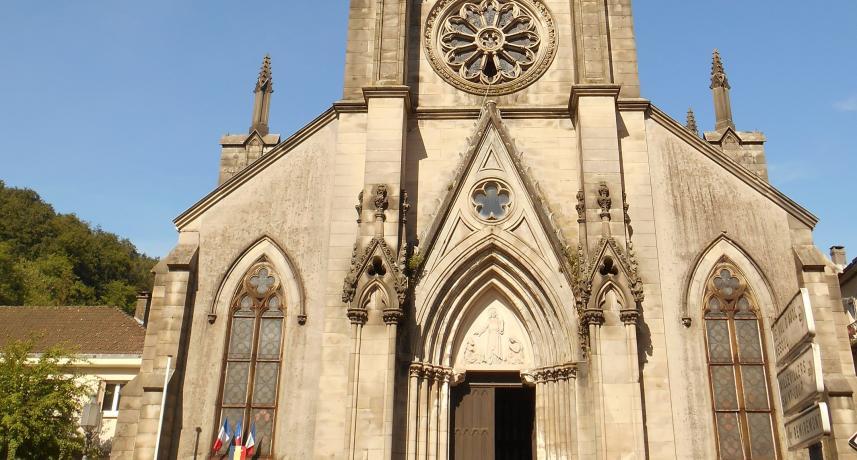 église de Plombirères-les-Bains