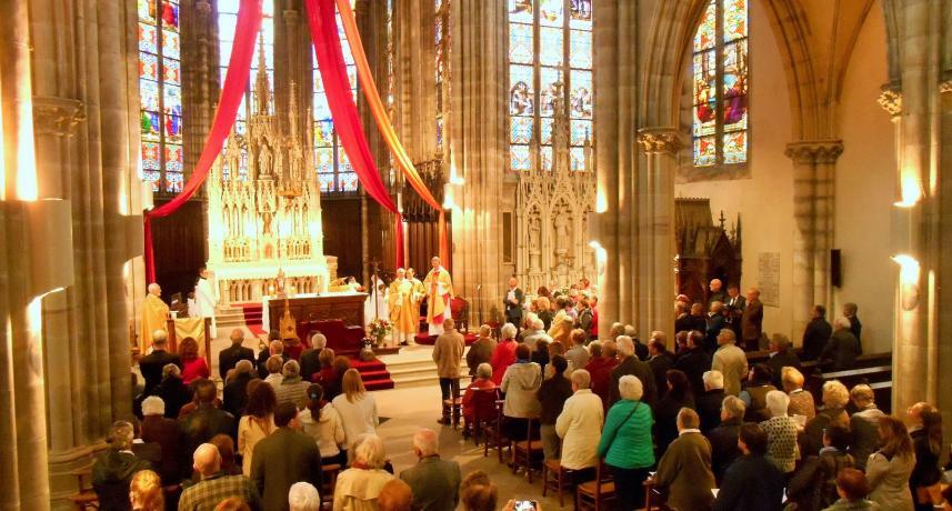 Messe inaugurale des travaux le 27 octobre 2019