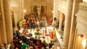 Messe aux Thermes Napoléon