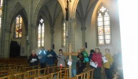 Chemin de Croix église de Plombières