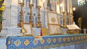 Maître Autel église de Plombières-les-Bains