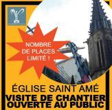 Visite de chantier de l'église de Plombières