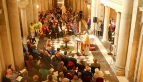 Messe et bénédiction des Eaux Thermales aux Thermes Napoléon