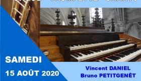 Concert du 15 août 2020 à l'église de Plombières