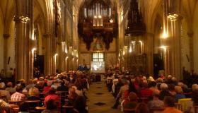 Église de Plombières les bains  concert Orgue et Trompette