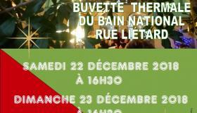 Concert de Noël buvette thermale 2018