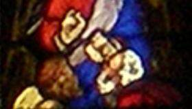 Jésus à table avec les disciples d'Emmaüs