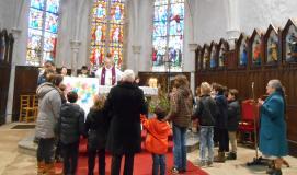 Messe avec les enfants du caté