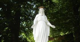 Statue Notre-Dame de Plombières