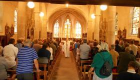 Première Communion à l'église de Bellefontaine le 23 juin 2019